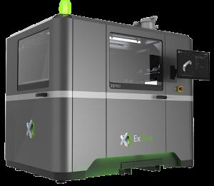Exone Metal Printing 3D